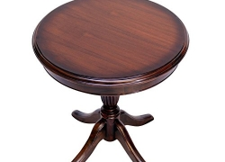Latest Furniture Teak Wood Round Coffee/Center Table