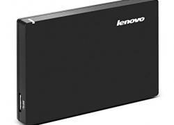 Lenovo 1TB External Hard Drive (Black)