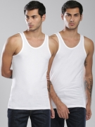 Levis Pack of 2 Innerwear Vests 200SFTANK-WHITE-PK2-CB1