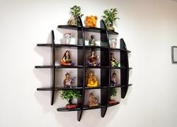 Lifeestyle Decorative Floating Wall Shelf / Display Unit