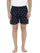 London Bee Men Navy Blue Printed Boxers MLB0124