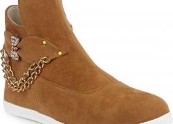 London Steps Boots  (Beige)