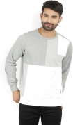 LP Jeans by Louis Philippe Full Sleeve Solid Men's Reversible Sweatshirt