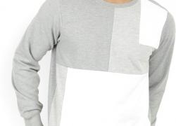 LP Jeans by Louis Philippe Full Sleeve Solid Men's Reversible Sweatshirt