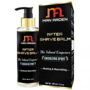 Man Arden After Shave Balm Island Emperor (Healing & Nourishing Silk Protein, Jojoba Oil), 100 ml