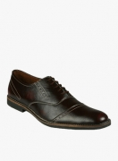 Bacca Bucci Maroon Formal Shoes for Men