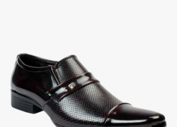 New Bacca Bucci Maroon Formal Shoes for Men