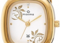 Maxima 40010CMLY Watch – For Women