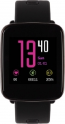 Metronaut GV68 Water Resistant Smartwatch with Heart Rate Sensor  (Black Strap FreeSize)