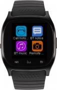 Metronaut MTS003 Smartwatch with Pedometer, Bluetooth Support and Remote Camera  (Black)
