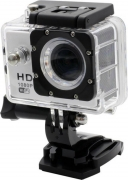 Mezire HD Action Adventure camera-04 1 Camera, 1 Waterproof Housing, 1 Handle Bar, 1cPole Mount, 4 Mounts, 1 Battery, 1 USB Cable, 1 User Manual Sports & Action Camera  (Black)