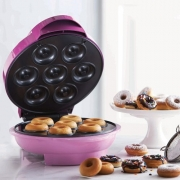 Mini Donut Maker Kitchen Accessory – Brownie Muffin Or Cake Treat Cooker