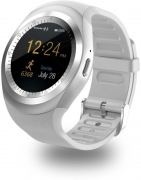 Mobile Link Apple Mobile Phones Compatible silver Smartwatch  (Silver Strap Regular)
