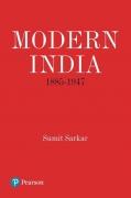 Modern India by Sumit Sarkar
