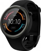 Motorola Moto 360 Sport Black Smartwatch  (Black Strap Regular)