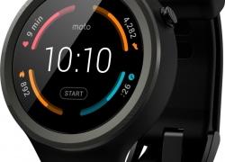 Motorola Moto 360 Sport Orange Smartwatch  (Orange Strap Regular)