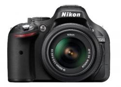 Nikon D5200 24.1MP Digital SLR Camera (Black) with AF-S 18-55 mm VR II Kit Lens, Memory Card, Camera Bag