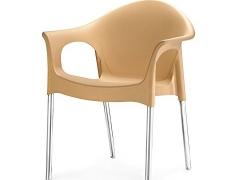Nilkamal Novella Chair (Biscuit)