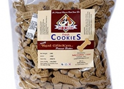 Nootie Freshly Baked Cookie, Real Chicken and Peanut Butter, 1 kg
