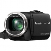 Panasonic HC-V180 Full HD 28mm WIDE LENS Camcorder Camera  (Black)