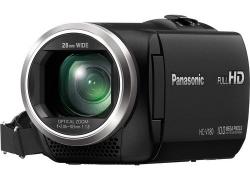 Panasonic HC-V180 Full HD Camcorder (Black), 16GB Card and Camera Bag