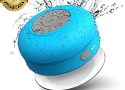 Premium Design Mini Waterproof Bluetooth Shower Speaker (Color May Vary)