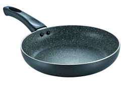 Prestige Omega Deluxe Granite Fry Pan, 240mm, Black (36305)