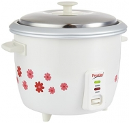 Prestige PRWO 1.8-2 Electric Rice Cooker with Steaming Feature(1.8 L)