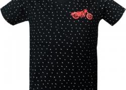 PRETTYFIT32 Boys Printed Cotton T Shirt  (Silver, Pack of 1)