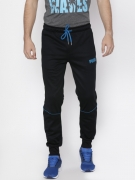 Puma Black Active Tec cl Jogger Track Pants
