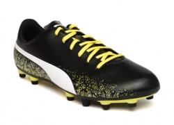 Puma Men Black Printed Truora Football Shoes
