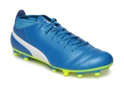 Puma Men Blue ONE 17.4 FG Football Shoes