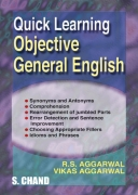 Quick Learning Objective General English by RS Aggarwal & Vikas Aggarwal