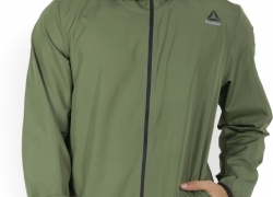 Reebok Full Sleeve Solid Men's Jacket