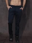 Roadster Men Navy Blue Slim Fit Solid Chinos