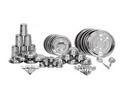 Royal sapphire stainless steel dinner set 50 pcs
