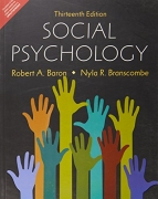 Social Psychology by Robert Baron, Branscombe