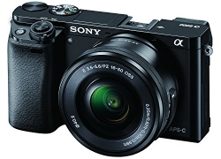 Sony Alpha A6000L 24.3MP Digital SLR Camera (Black) + 16-50mm Lens