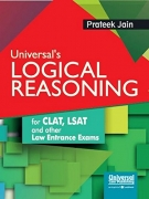 Universal's Logical Reasoning for CLAT, LSAT, and other Law Entrance Exams by Jain Prateek