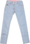 GUDLU Skinny Girls Light Blue Jeans