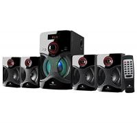 Zebronics BT4440 RUCF Bluetooth Home Audio Speaker  (Black, 4.1 Channel)